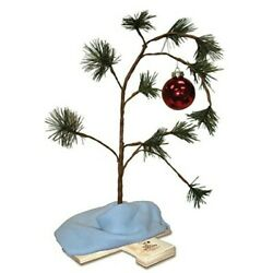 Product Works 24 Inch Charlie Brown Musical Christmas Tree $18.32