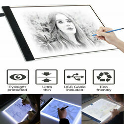 Ultra Thin 3MM LED Artist Drawing Board USB Power Dimmable Tracing Light Box Cop