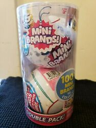2 balls 5 Surprise Mini Brands SEALED ** IN HAND *FREE IMMEDIATE SHIPPING