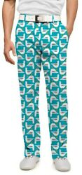 LOUDMOUTH Bodega Bay SEAGULLS Print Golf Pants Men's Size 32X34 Medium GULL BIRD