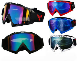 Winter Ski Goggles Anti Fog Snowboarding Skiing Off Road Outdoor for Men Women