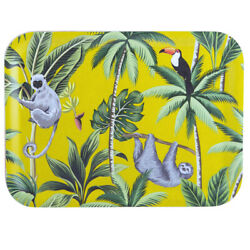 Navigate Madagascar Scatter Tray Sloth Modern Quirky Serving Snack Tray Party