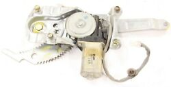 2002 Mazda Protege Sedan oem right rear electric window regulator motor 03 02 01