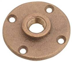 NEW Anderson Metals 738151 08 Brass Floor Flange 1 2quot; PIPE THREAD 6895155 $5.99