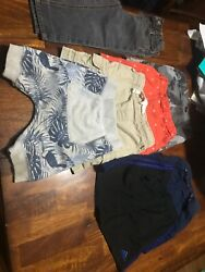 2t Boys Shorts Bundle Of 6 Variety (Names Brands Included!) & A Pair Of Pants