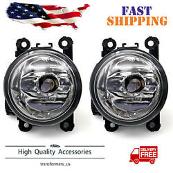 Pair LH RH Fog Driving Light Lamp Fit for 2015 16 17 18 Jeep Renegade w Bulbs $29.90