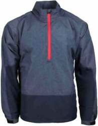 Page & Tuttle Colorblock Windshirt  Athletic Golf  Outerwear - Navy - Mens
