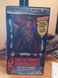 Ultimate Terminator 2 With Battle Noises And Light-Up Eyes Kenner 1991