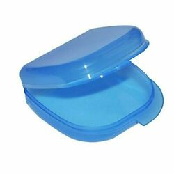 1Pc Dental Orthodontic Retainer Denture Mouth Guard Case Clear Cases $2.85
