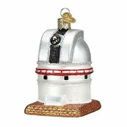 Old World Christmas 20107 Glass Blown Observatory Ornament $12.69