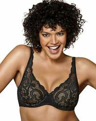Playtex Underwire Bra Love My Curves Beautiful Lift Lightly Lined Adjustable NWT $9.85