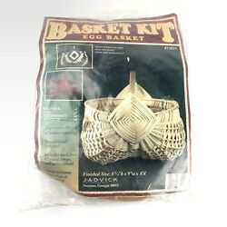 Vintage Basket Making Kit Boho DIY Home Decor Basket NEW $29.99