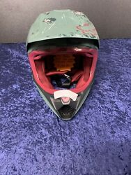 Fox Motocross helmet adult fox Boba Fett. Size Large. Brand New Never Dropped. $499.99