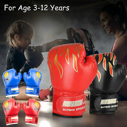 Kids Boxing Gloves for Kids Children Training Punching Bag Kickboxing Mitts $13.97