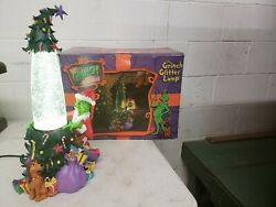 How the grinch stole christmas  glitter lamp.vintage original box.excellent cond