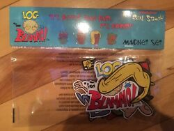 Nickelodeon Nick Box Exclusive Ren amp; Stimpy Dress Up Log from Blammo Magnet Set $11.90