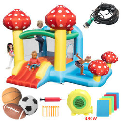 Inflatable Bounce House Castle Jumper Bouncer Jump Bouncy Kids with Water Hose $229.80