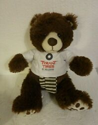 Tyrant Tires Belshina Belarus Dictator Protest Teddy Bear Las Vegas Mining Expo $8.99
