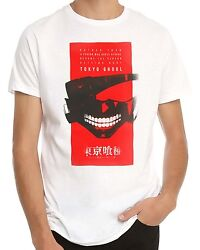 Tokyo Ghoul Rather Than White Men's T-Shirt New $14.24