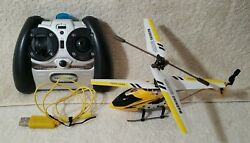 Protocol RC Helicopter Yellow and Black Tested Works Great $12.00