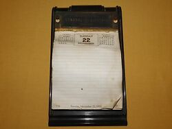 VINTAGE 1940S-50S 1955 INTERNATIONAL GE GENERAL ELECTRIC COMPANY DESK CALENDAR