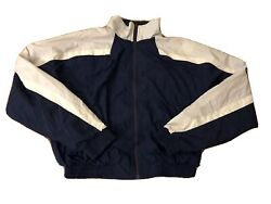 Vtg Champion Sportswear Windbreaker Jacket Sz S Customized Atlanta Braves *Used* $26.25