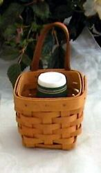 Longaberger CHIVES BASKET in Classic Cute for bathroom amp; so much more NEW $15.00