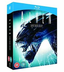Alien Anthology Blu-Ray Box Set Collection [Region Free 4 Movies Discs] NEW $27.49