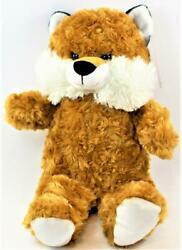 Stuffed 16quot; Plush Fox Cuddly Kellytoy New Fast Free Shipping Discontinued $13.99