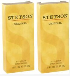 STETSON by Coty After Shave 0.5 oz 15 ml for Men Pack Of 2 $4.82