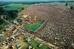Woodstock 1969 8x10 Picture Celebrity Print