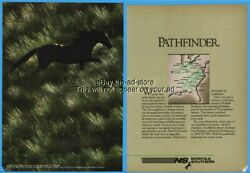 1986 Norfolk Southern NS Railway Railroad Train Horse In Pasture PATHFINDER Ad $8.99