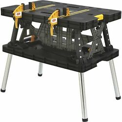 Keter Folding Work Table 33 1 2in.L x 21 3 4in.W x 29 3 4in.H Model# 17182239 $89.99