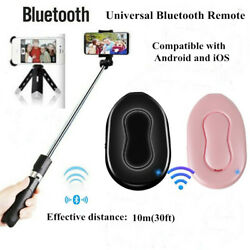 Mini Selfie Bluetooth Remote Control Camera Shutter for IOS Android Mobile Phone $1.89