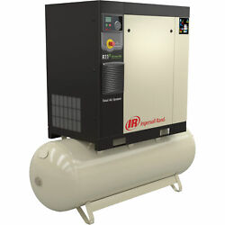 Ingersoll Rand Rotary Screw Compressor Total Air System 7.5 HP 230V