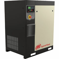 Ingersoll Rand Rotary Screw Compressor Total Air System 7.5 HP 460V
