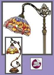 Tiffany Style Table Desk Lamp Shade Vintage Victorian Glass Mosaic Dragonfly New $124.80