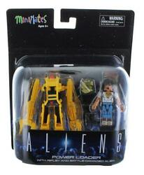 Aliens Deluxe Power Loader with Ripley & Battle-Damaged Alien Warrior Minimates $15.99