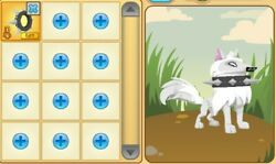 Animal Jam: Black Long Spiked Collar *RARE*