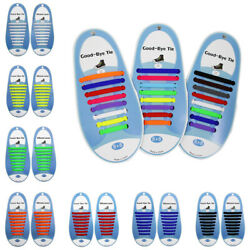 16 PCS Set No Tie Shoe lace for Kids and Adults Elastic Shoelaces for Sneaker $4.99