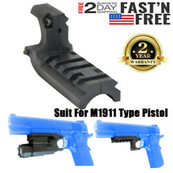 Tactical Picatinny Rail Metal Mount Adapter for 1911 Flashlight Mount FAST SHIP $9.99