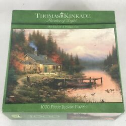 Ceoco Thomas Kinkade The End of a Perfect Day 1000 Piece puzzle $30.00