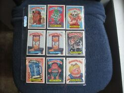 1986-87 GARBAGE PAIL KIDS LARGE LOT (84) MOSTLY DIFFERENT  CARDS EX-EXMT-NM $19.99
