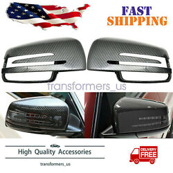 Carbon Fiber Rearview Mirror Cover For Mercedes Benz CLA GLA W212 W212 W221 W204 $64.27