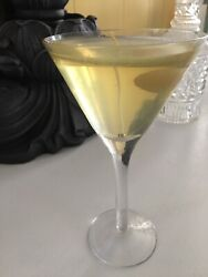 Glass Martini Gel Candle Novelty for Home Bar or Display $10.00