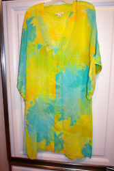Banana Republic Swim Suit Cover Up Sheer Beach Pool Dress Large * fast shipping $32.88