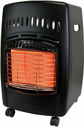 Infrared Heaters Cabinet Heater 18000 BTU Gas Propane Type Heating Needs Black $134.98