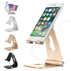 Cell Phone Tablet Switch Stand Aluminum Desk Table Holder for iPhone Universal $9.99