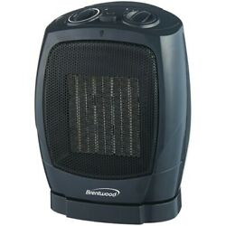 Brentwood Appliances H-C1600 Oscillating Ceramic Space Heater & Fan $43.92