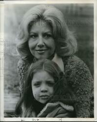 1976 Press Photo Michael Learned as she stars in Widow and The Waltons